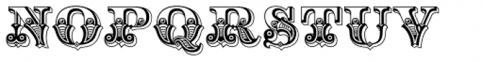 Hickory Font UPPERCASE