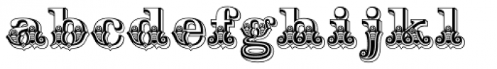 Hickory Font LOWERCASE