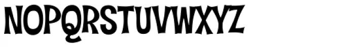 Hideaway PB Font UPPERCASE