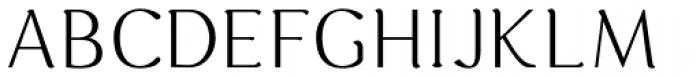 Hideko Light Font UPPERCASE