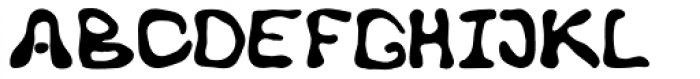 Hideous Font UPPERCASE