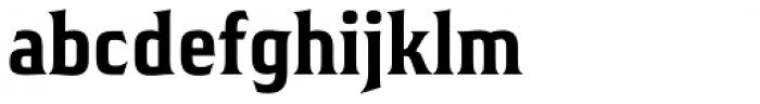 Hideout Condensed Bold Font LOWERCASE