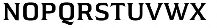 Hideout SemiBold Font UPPERCASE