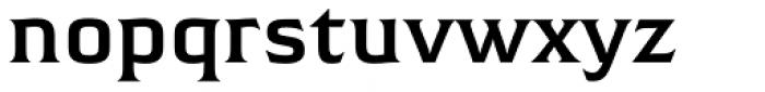 Hideout SemiBold Font LOWERCASE