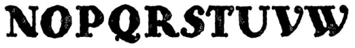 Hierra Rough Font UPPERCASE