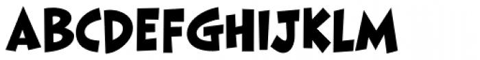 HighJinkies Bold Font UPPERCASE
