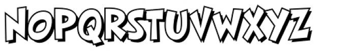 HighJinkies Open Bold Font UPPERCASE