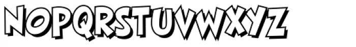 HighJinkies Open Bold Font LOWERCASE