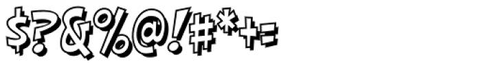 HighJinkies Open Font OTHER CHARS