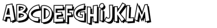 HighJinkies Open Font LOWERCASE