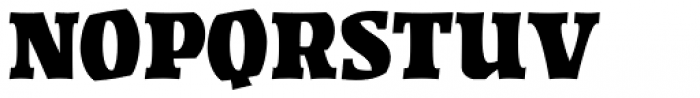 Highground Regular Font UPPERCASE
