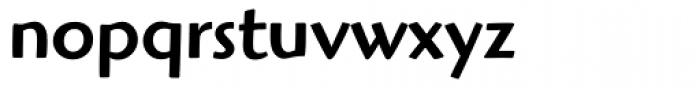 Highlander Medium Font LOWERCASE