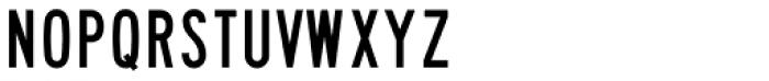 Highway Gothic B Font UPPERCASE