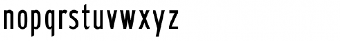 Highway Gothic B Font LOWERCASE