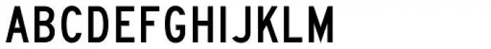 Highway Gothic C Font UPPERCASE