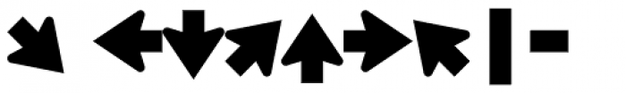 Highway Gothic E(M) Font OTHER CHARS