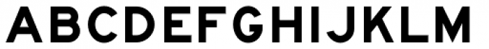 Highway Gothic E(M) Font UPPERCASE