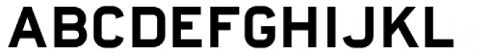 Highway Font UPPERCASE