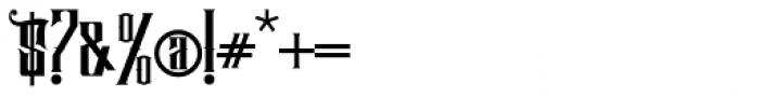 Hijrah Regular Font OTHER CHARS