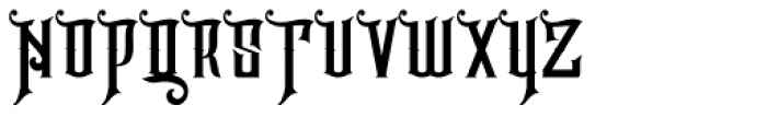 Hijrah Regular Font UPPERCASE