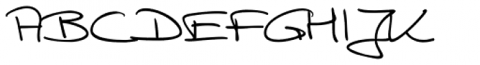 Hilly Handwriting Pro Font UPPERCASE