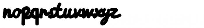 Himalaya Regular Font LOWERCASE