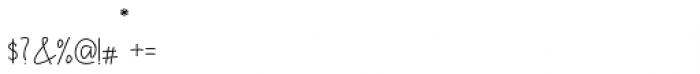 Himeka Regular Font OTHER CHARS