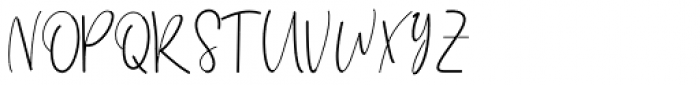 Himeka Regular Font UPPERCASE