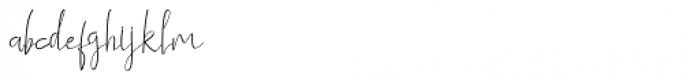 Himeka Regular Font LOWERCASE