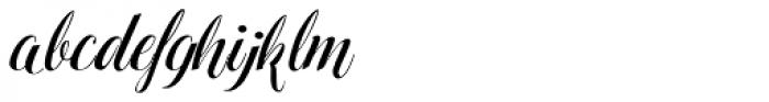 Hinzatis Font LOWERCASE