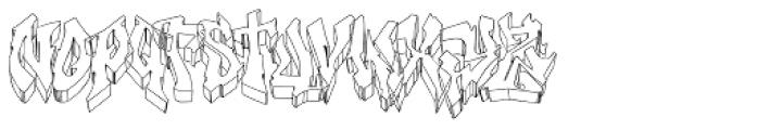 Hip-HIGH Font LOWERCASE
