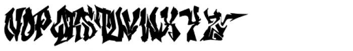 Hip-Mob Font UPPERCASE