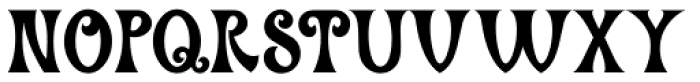 Hippie Freak JNL Font UPPERCASE