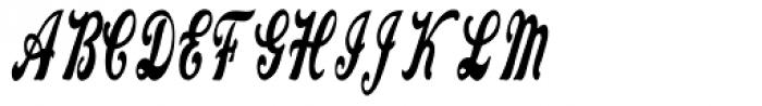 Hippie Font UPPERCASE
