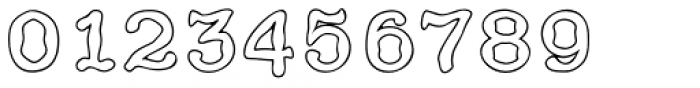 HippityDippity Inline Middle Font OTHER CHARS