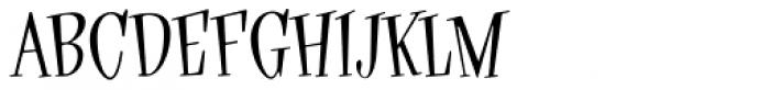 Hippyfreak Font UPPERCASE