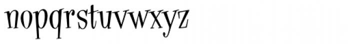 Hippyfreak Font LOWERCASE