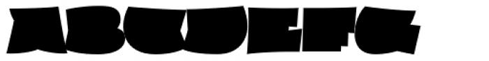 Hipsterpotamus Regular Font UPPERCASE