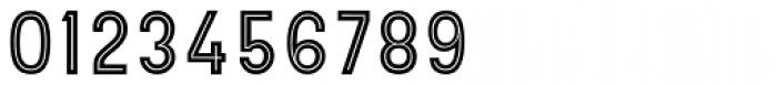 Hipton Sans Inline Font OTHER CHARS