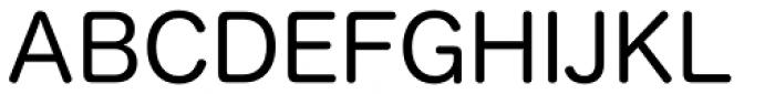 Hiragino Sans Rounded (Maru Gothic) ProN W4 Font UPPERCASE