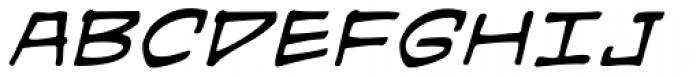 Hired Goons BB Italic Font UPPERCASE
