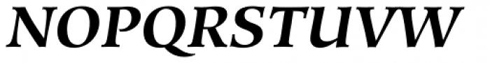 Hiroshige Bold Italic Font UPPERCASE