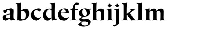Hiroshige Bold Font LOWERCASE