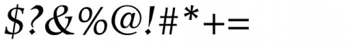 Hiroshige Book Italic Font OTHER CHARS
