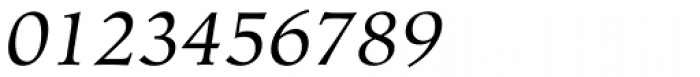 Hiroshige Italic Font OTHER CHARS