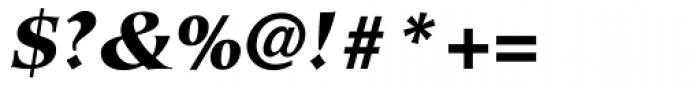 Hiroshige Sans Black Italic Font OTHER CHARS
