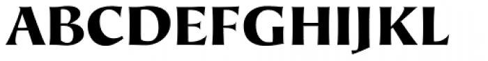 Hiroshige Sans Black Regular Font UPPERCASE