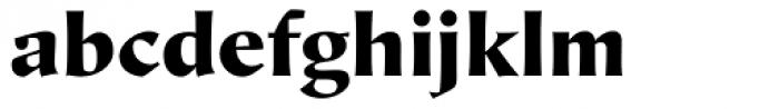 Hiroshige Sans Black Regular Font LOWERCASE