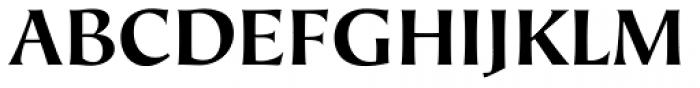 Hiroshige Sans Bold Regular Font UPPERCASE
