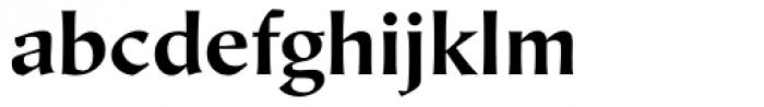 Hiroshige Sans Bold Regular Font LOWERCASE